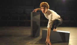 Harrison Coffman in Metamorphosis. Photo-The Alley Theater