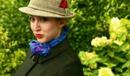Leah Michelle Roberts is Millie in The Stranger and Ludlow Quinn. Photo - Theatre [502]