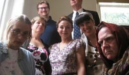 2-The cast of the Bunbury Dramedy Festival. Photo-Bunbury Theatre.