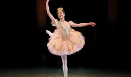 Christy Corbitt Miller dancing the role of the Sugar Plum Fairy. Photo by Peter Mueller.