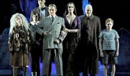 The cast of The Addams Family. Photo-Broadway in Louisville.