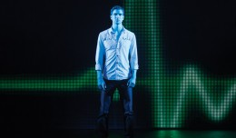 Steven Grant Douglas as Sam, Ghost the Musical tour. Photo © Joan Marcus, 2013.