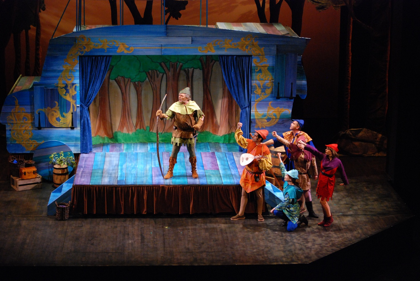 "Story Is A Living Thing in StageOne's ""Robin Hood"""