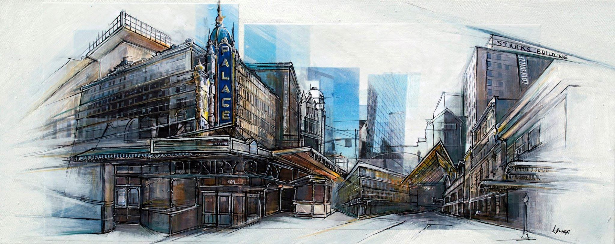 The City Is Alive In The Work Of Ashley Brossart