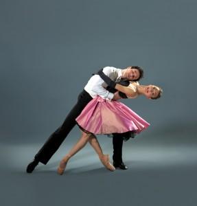 Louisville Ballet dancers Mark Krieger and  Natalie Ashikhmina in Val Caniparoli's A Cinderella Story. Photo by PriceWeber.