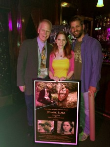 Patrick, Terri & Brendan at Jes and Lora Hollywood Premiere WMMFest (We Make Movies) June, 2015