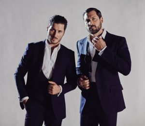 Brothers Val and MaksChmerkovskiy.Photo by Michael Rosenthal.