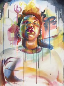 LaNia Roberts, The Colored Gaze I