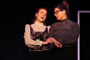 A Dolls House 3 - Polina Shafran as Nora; Beth Tantanella as Mrs. Linde; photo by Jasmine Jones
