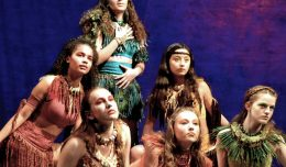fairies from Midsummer with Andrea Lowry as Titania