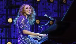 ulia Knitel as Carole King in the national tour of Beautiful- The Carole King Musical, photo by Joan Marcus