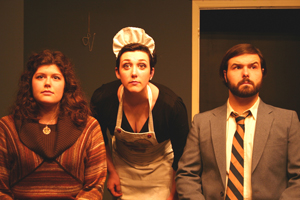 Absurd but Absurdly Good Production of Ionesco Play from Savage Rose