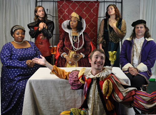 Murder Most Foul at WhoDunnit's Royal Court