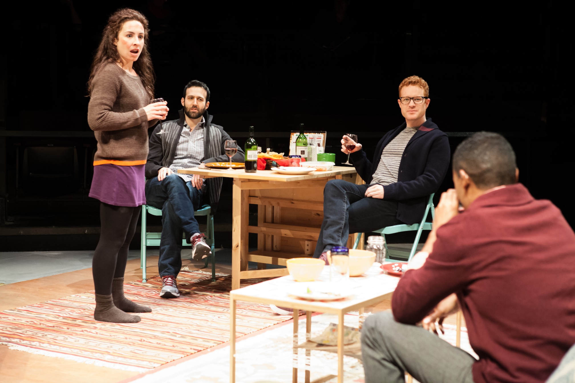 """Partners"" Opens 38th Annual Humana Festival"